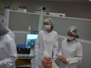 Preparo da Biópsia