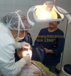 Exame intrabucal